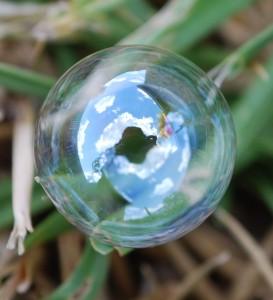 bubble closeup