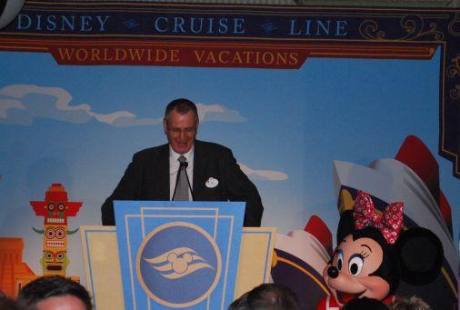 disney cruise line announcement