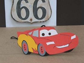 Lightning McQueen air freshener