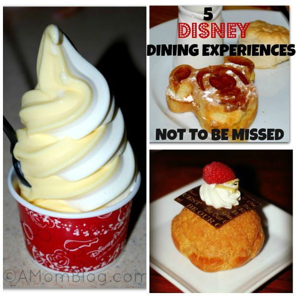 disney dining experiences