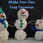 How to Make Your Own Soap Snowman