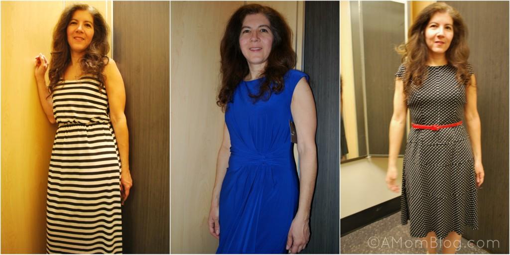 dresses Collage