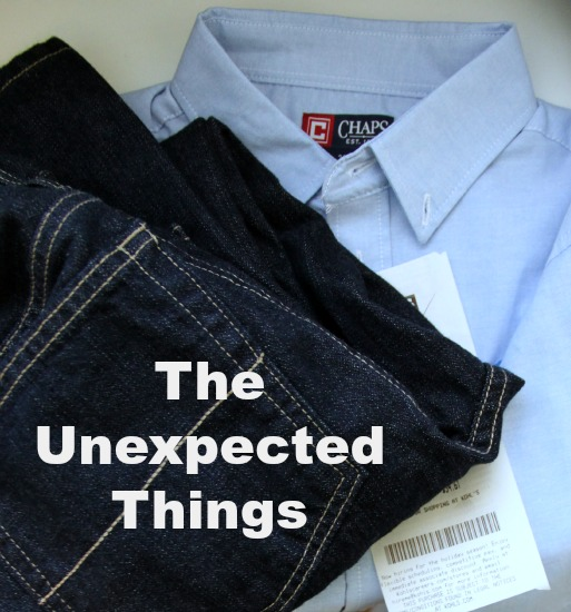 unexpected things