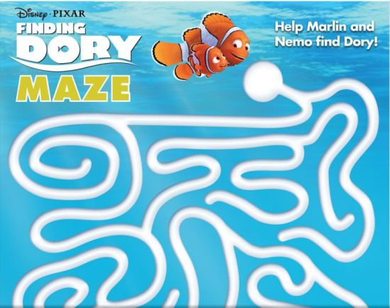 finding dory maze