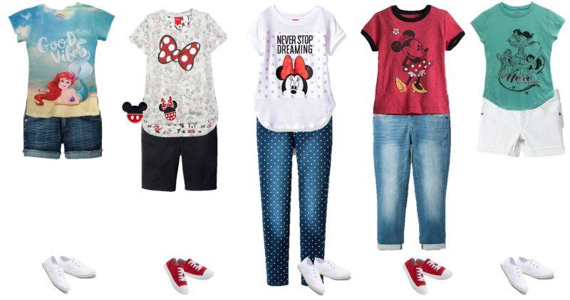 girls disney fashion ideas